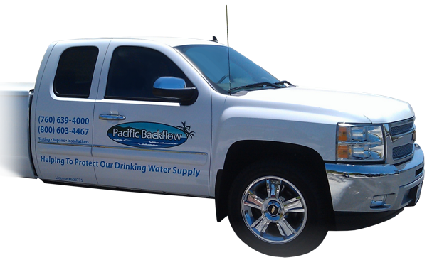 Pacific Backflow Service Vehicle