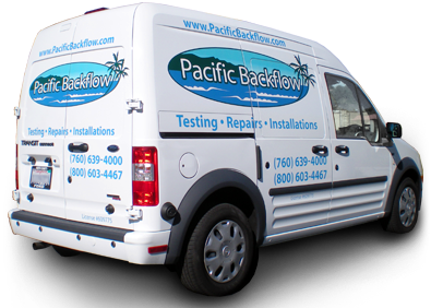 Pacific Backflow Service Van